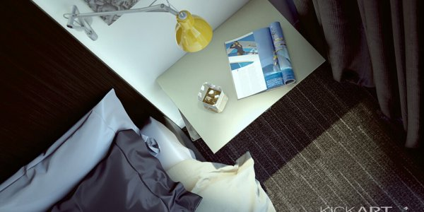 BEDSIDE TABLE  |  CLIENT: GHD FOR SAGE HOTEL